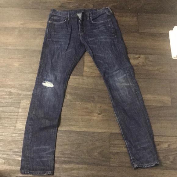 best prices factory outlets sleek All Saints Men's Pistol Fit Jeans Size 30 L 32